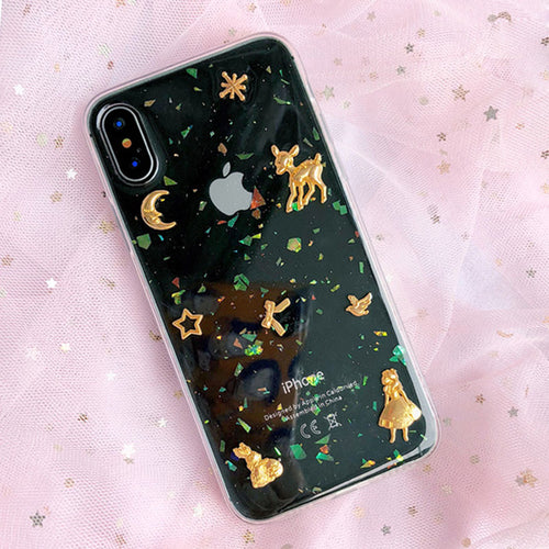 Princess Glitter Phone Case