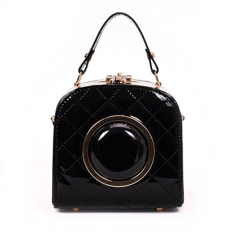 Patent Frame Mini Bag Satchel
