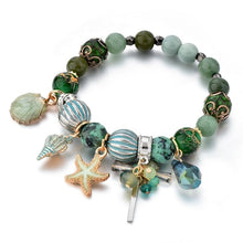 Seashell Crystal Bracelet - Go Glam Accessories