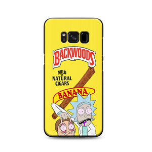 Rick and Morty Funny Backwoods Phone Case For Android