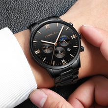 Men's Quartz Watches - Chronograph Bracelet Watch