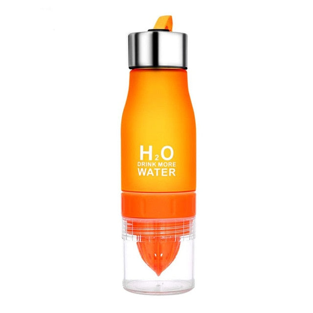 Fruit Infuser Water Bottle | H2O Water Bottle | Go Glam Accessories