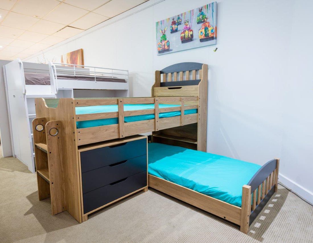Picture of: Graham Bunk Bed By Sofon