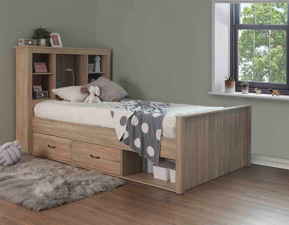Jonas Bookshelf Bed