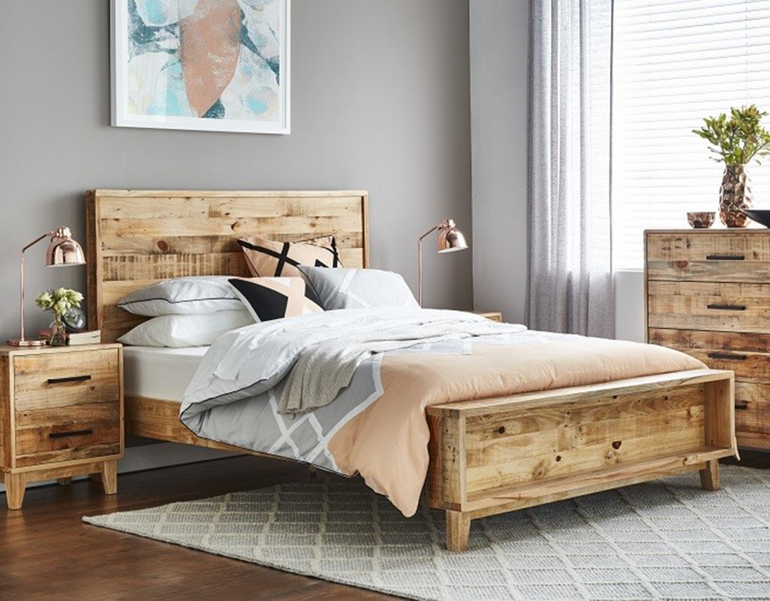 Cronulla Rough Sawn Bed