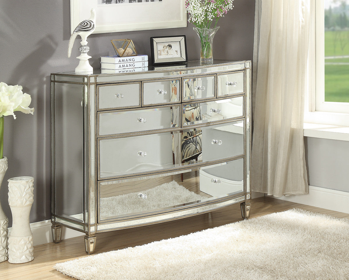 Rochelle Mirrored Bed Fabric