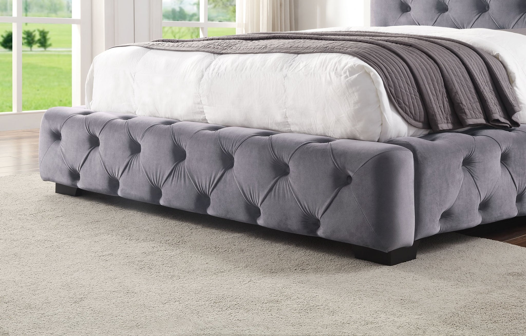 Lola Upholstered Bed