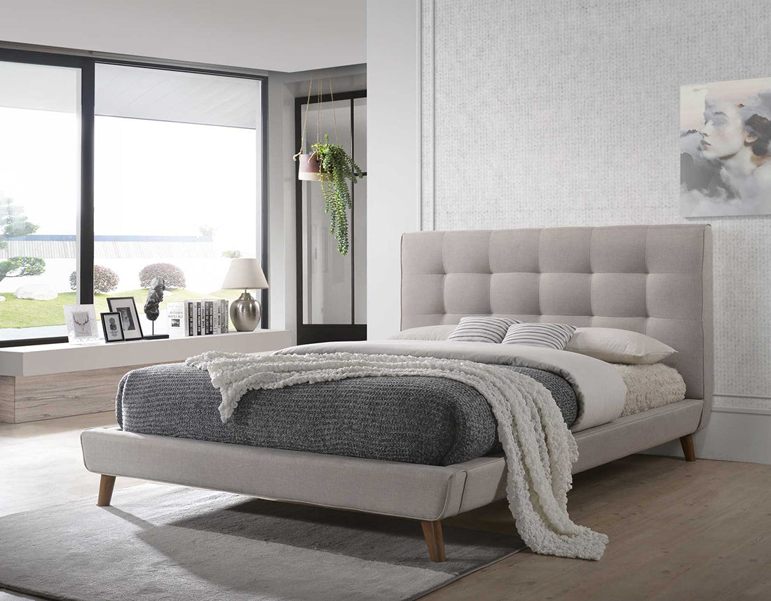 Milan Fabric Bed