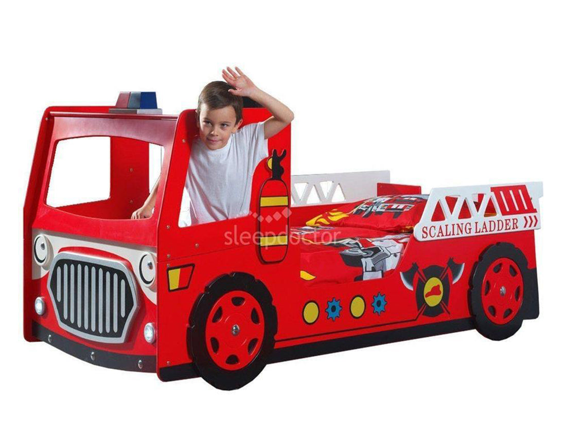 Fire Engine Bed (Due Mid Sept)