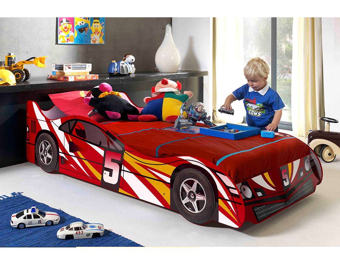 Special 5 Race Car Bed By Iq Kids