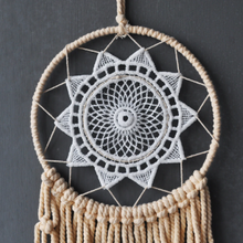 Load image into Gallery viewer, DREAMER Flower Dreamcatcher