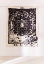Load image into Gallery viewer, STARS Tarot Tapestry