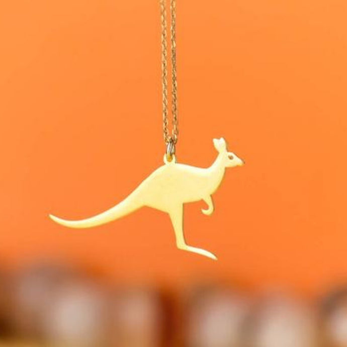 Kangaroo Pendant Necklace