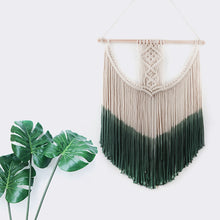 Load image into Gallery viewer, AHISMA Dip Dyed Macrame