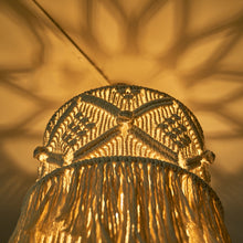 Load image into Gallery viewer, ANNIE Macrame Hanging Lamp