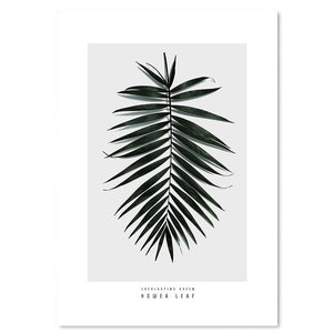 BOTANICAL Canvas Poster