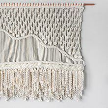 Load image into Gallery viewer, HIMALAYA Landscape Macrame Wall Hanging