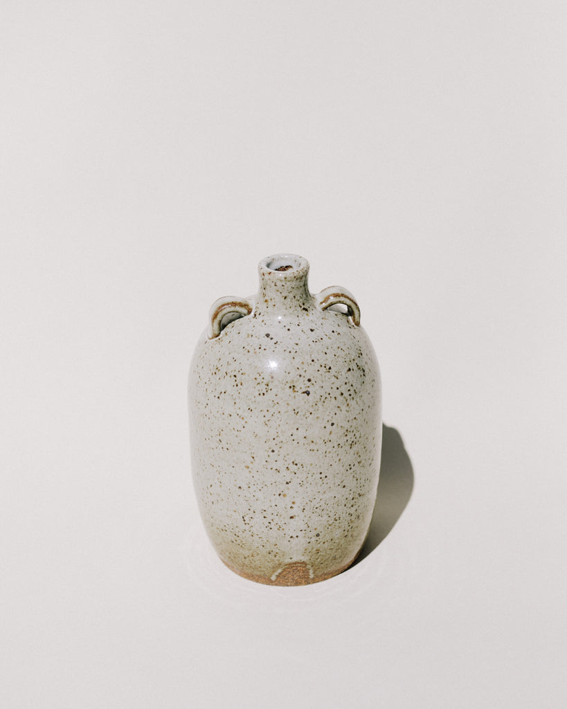 Double Handle Speckle Vase III