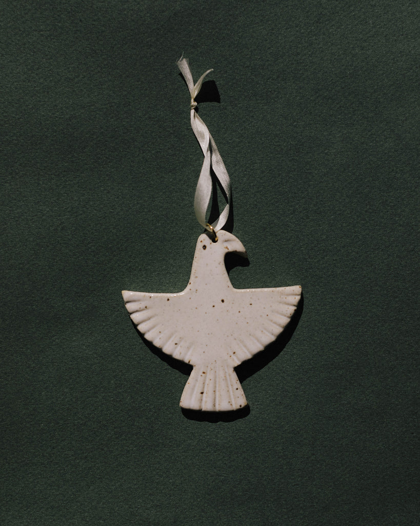 Eagle Ornament (White Sonora)