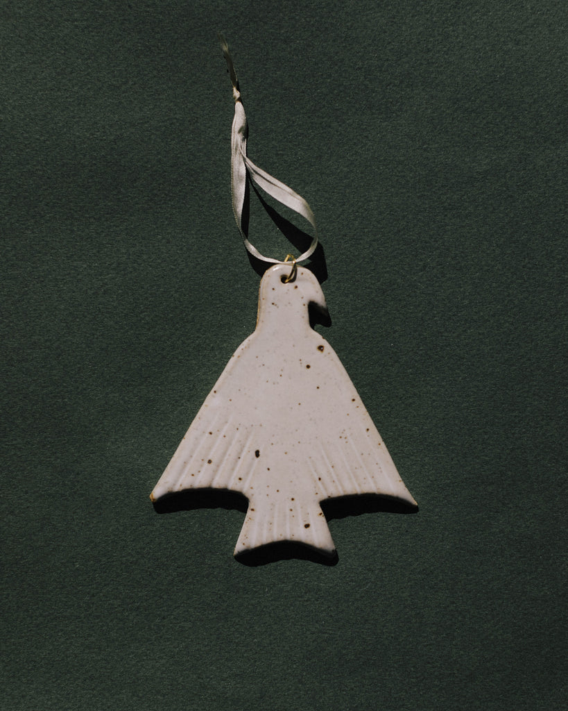Dove Ornament (White Sonora)
