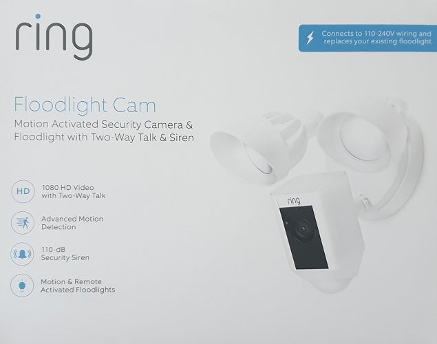 Ring Floodlight Camera Motion Activated Secuirty Camera