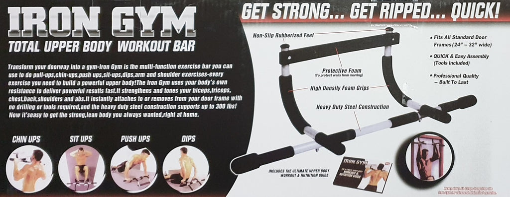 Iron Gym Multi Training Door Gym - Home Gym Equipment