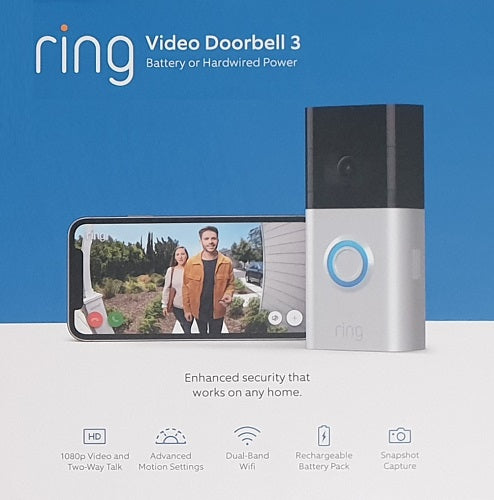 Ring Wireless Spotlight Camera (White)