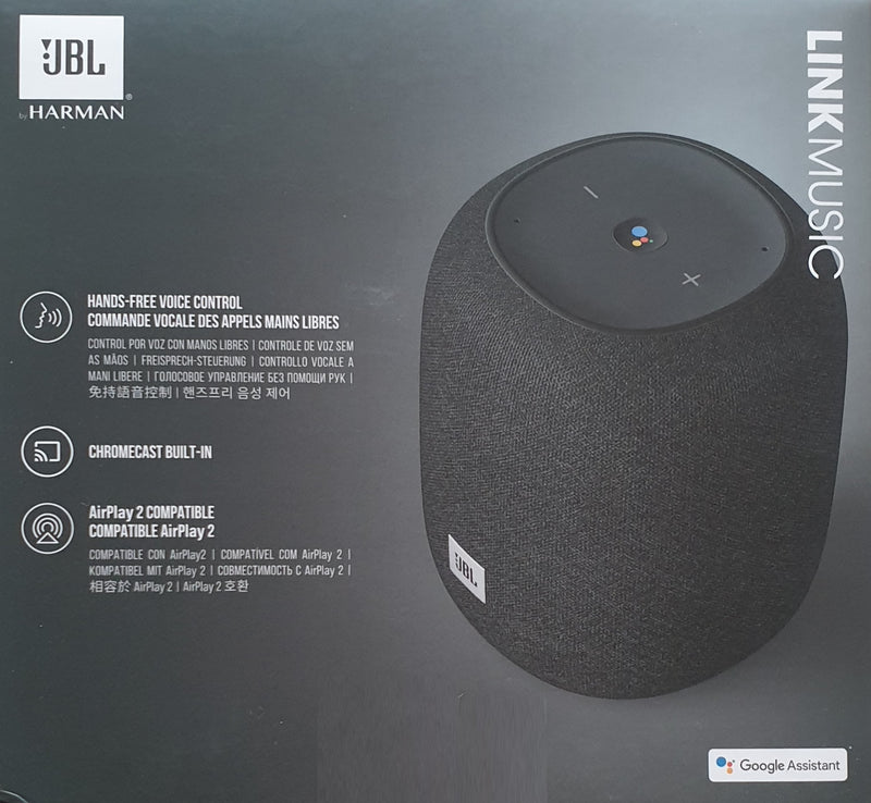JBL Link Music Smart Speaker Blueooth Wi-Fi 360 Degree Immersive Sound