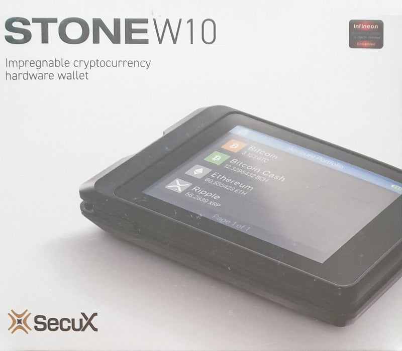 SecuX W10 Crypto Hardware Wallet