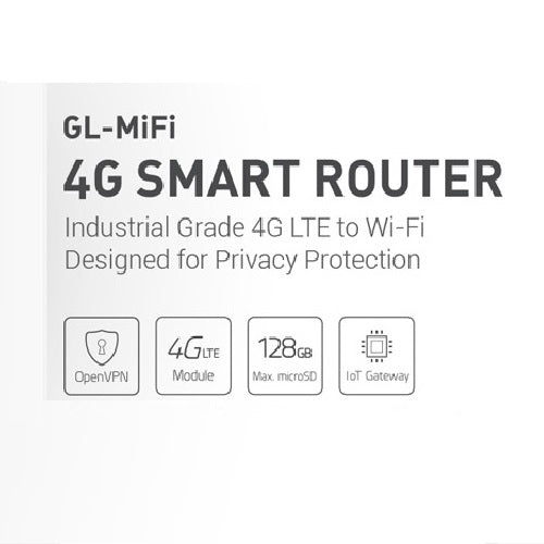 GL-MiFi 4G SMART ROUTER - GL.iNet (AU STOCK) Privacy Protection
