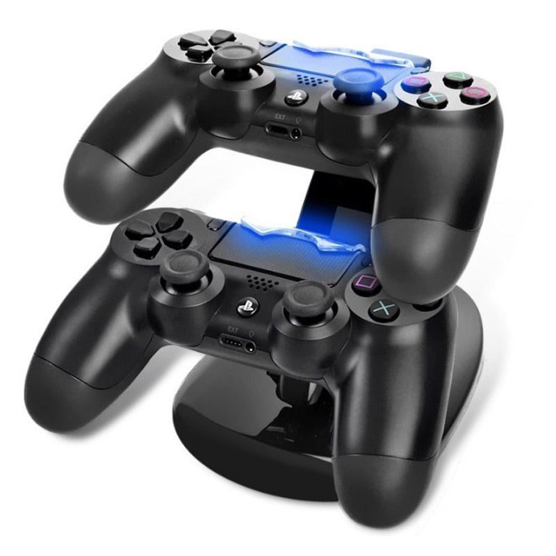 LED PS4 Controller Charging Dock DUAL USB