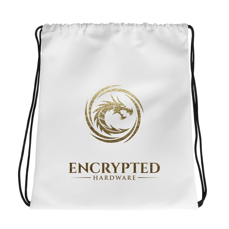 Encrypted Drawstring bag