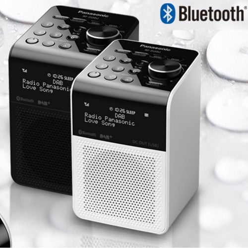 Panasonic DAB - FM RADIO - Bluetooth (Black/Silver)