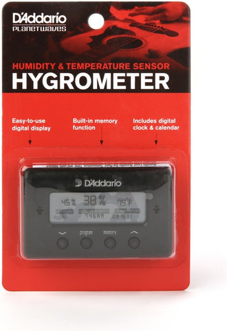 Planet Waves Humidity & Temperature Sensor Hygrometer