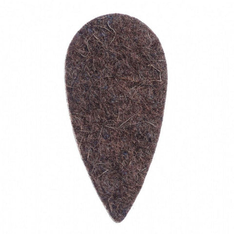 Timber Tones Felt Tones Teardrop Brown Wool Felt 1 Pick