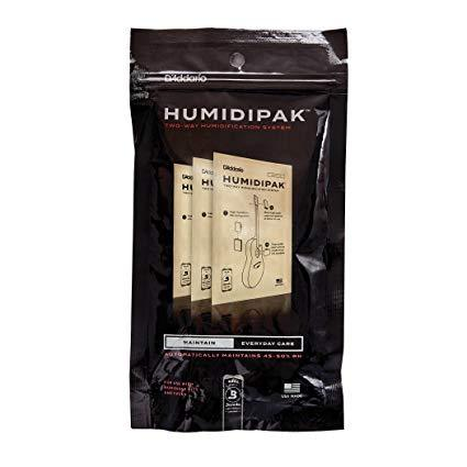 D'Addario Two Way Humidifaction Replacement Packets
