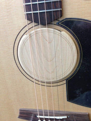 Soundhole Suppressor Fat Lady Solid- Lute Hole