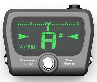 The GoGo Tuners Horizon Chromatic Pedal Tuner