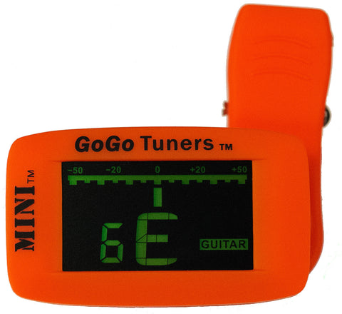 The GoGo Mini Clip On Tuner