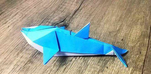 So Cute Origami Dolphin