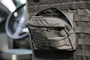 Molle Front Medium GP Pouch - 5x8x3""