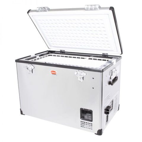 SnoMaster 60L Stainless Steel Fridge/Freezer AC/DC
