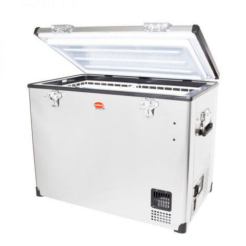 SnoMaster 95L Stainless Steel Fridge/Freezer AC/DC