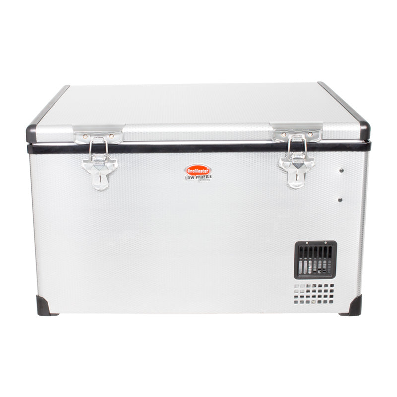 SnoMaster 65L Low Profile Stainless Steel Fridge/Freezer AC/DC