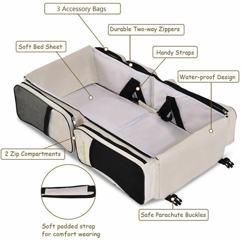 Diaper Bag with Changing Station