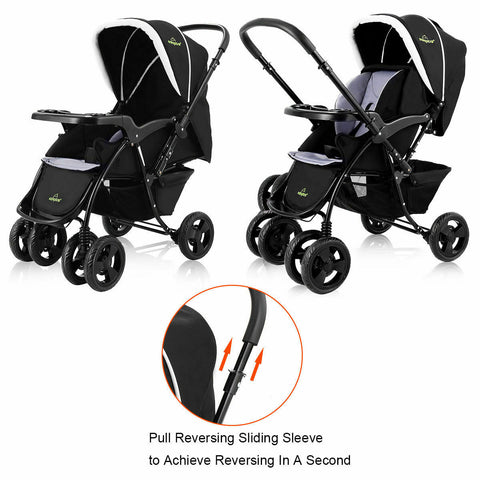 Two Way Foldable Stroller