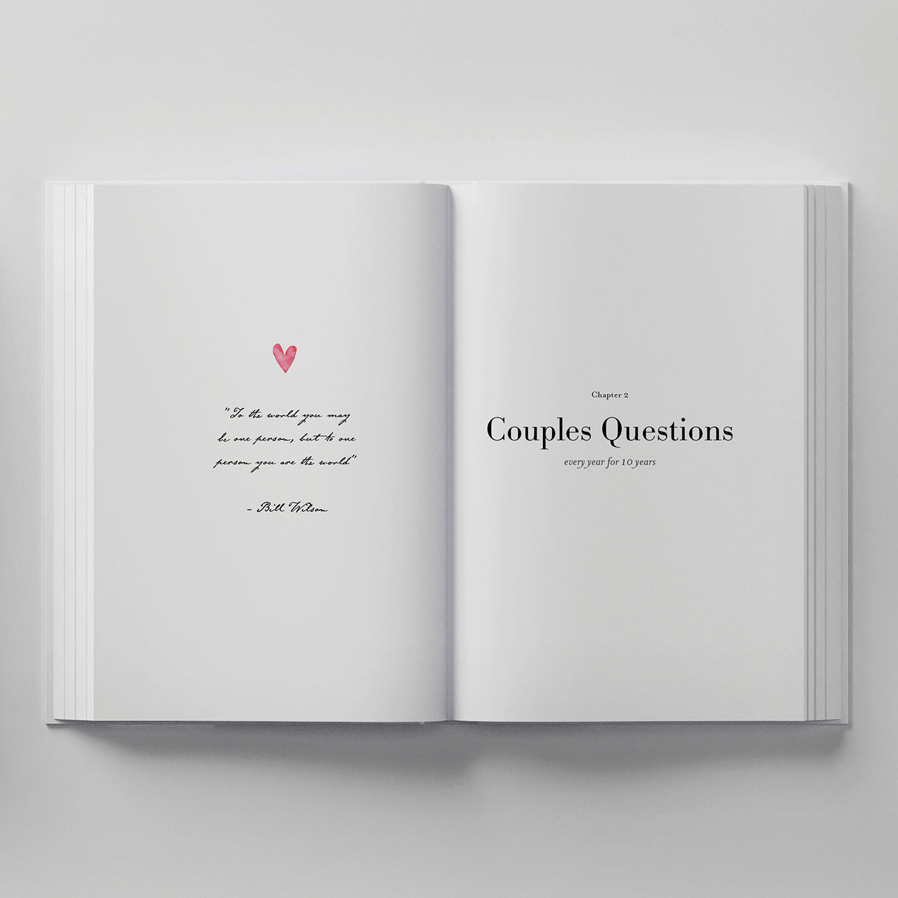 Love. Couples Journal