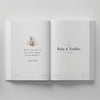 Truly Amor Bebè book baby and toddler pages