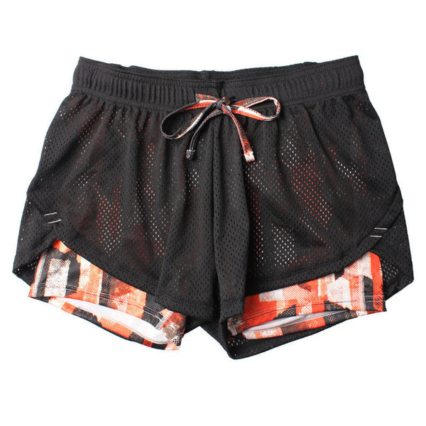Summer Double Layer Shorts