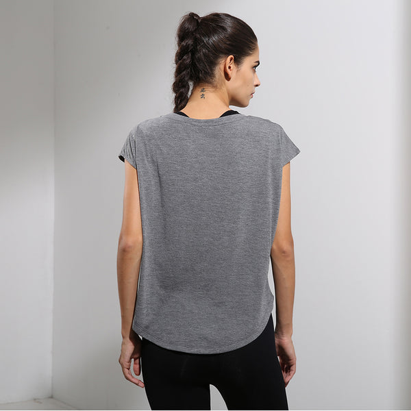Breathable Soft Loose Fitness Shirt